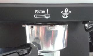 เริ่มอัดกาแฟ