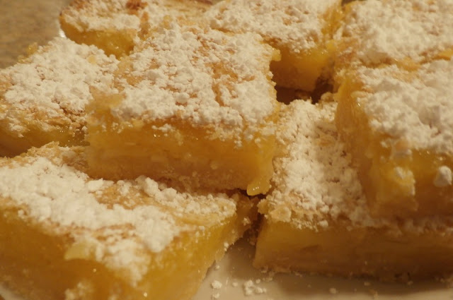 quick easy lemon bars