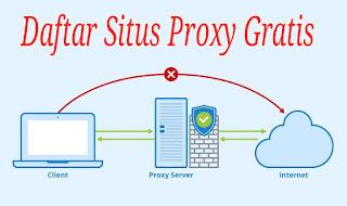 Penyedia Layanan Proxy Gratis