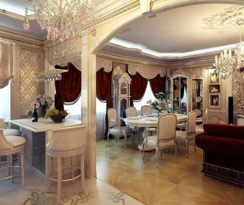 Desain Interior Rumah Mewah 01