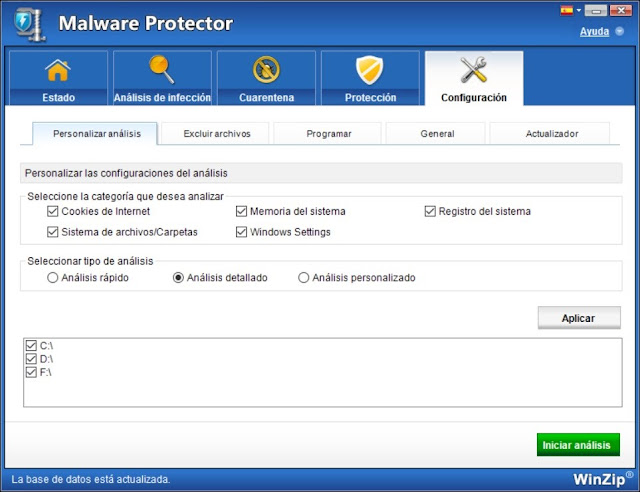 WinZip Malware Protector Full imagenes
