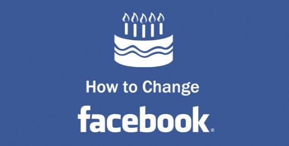 request a birthday change facebook