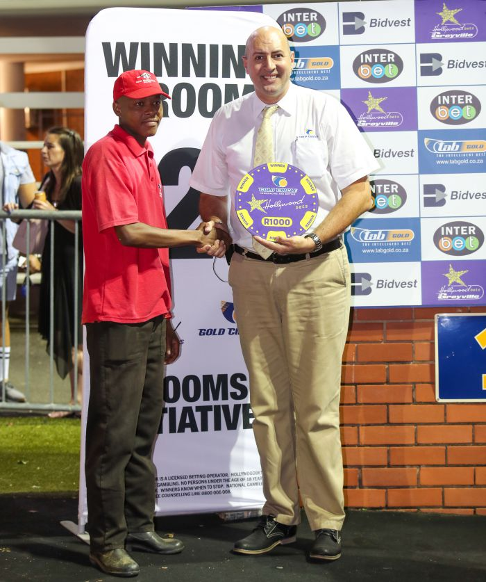 Grooms Initiative winner - Friday 6th December - Hollywoodbets Greyville - Race 4 - Silver Maqelana - LUNDY'S LAD