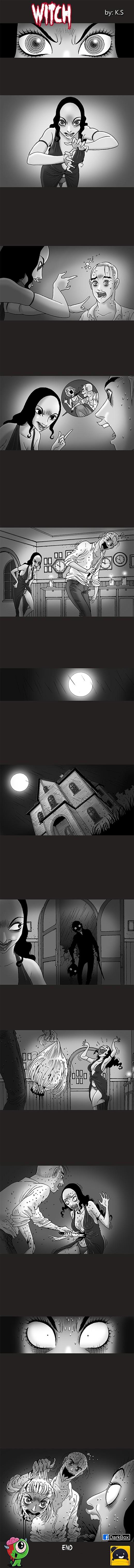 Silent Horror chap 119: Mụ phù thủy