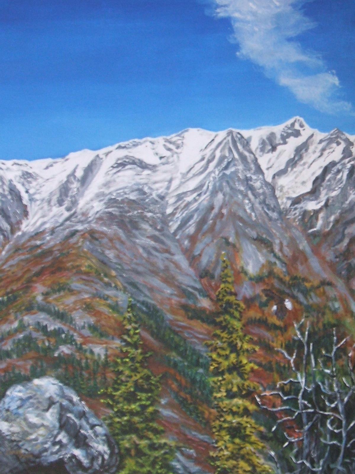 Jackie Irvine S Landscape Art Rose Mountain Faro Yukon
