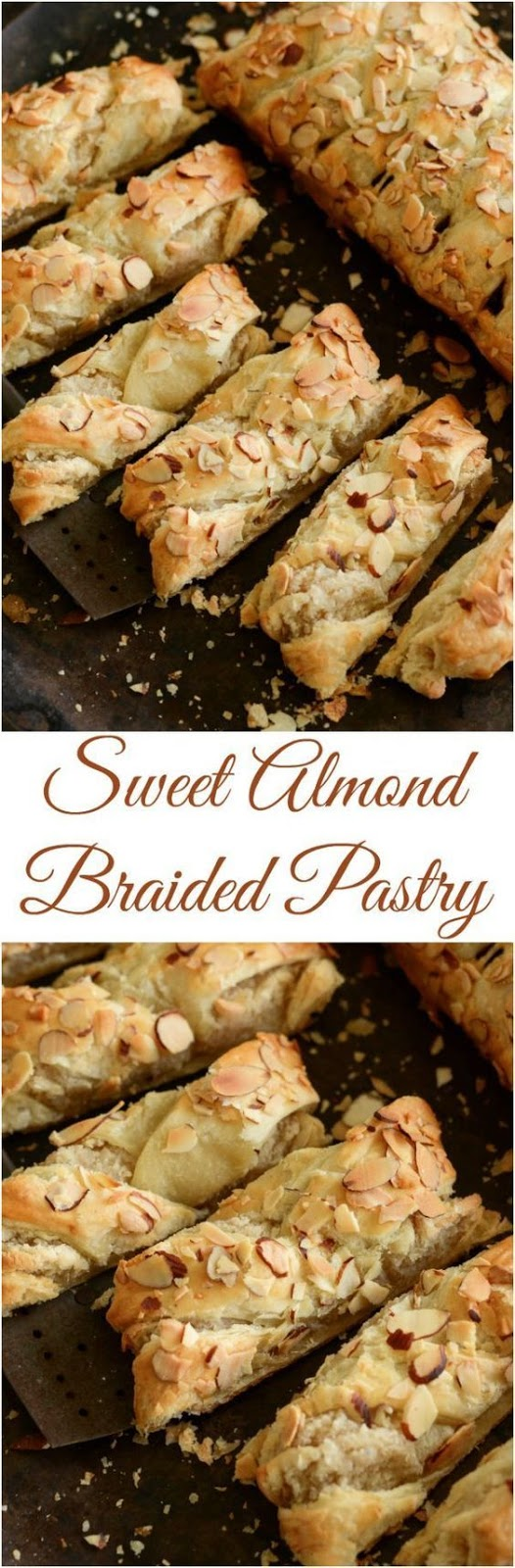 Sweet Almond Braided Pastry