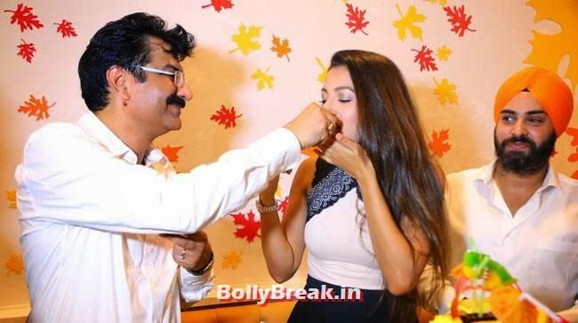 Gauhar Khan, Gauhar Khan Inaugurates Kesar Designer Sweets Outlet