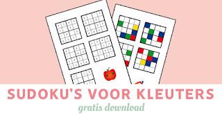 Sudoku's voor kleuters