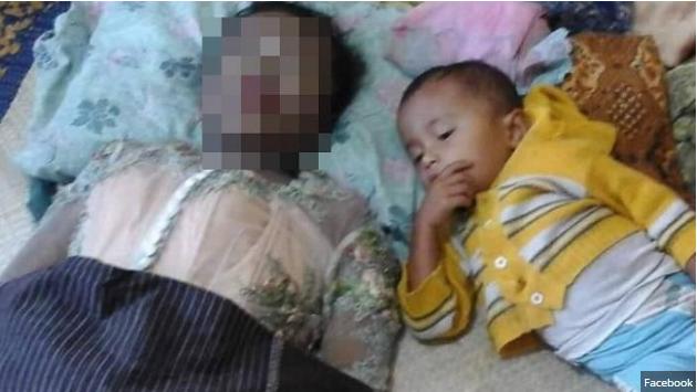 Terlihat Biasa Saja, Fakta di Balik Foto Ibu dan Anak yang Terlelap Ini Bikin Netizen Nangis