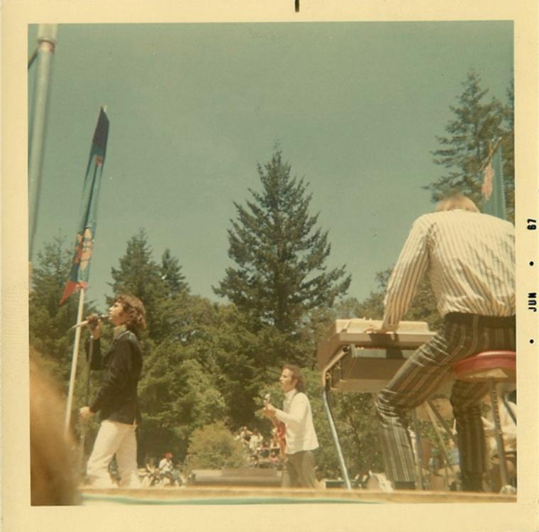 Rare Photographs of The Doors Performing at Fantasy Fair and Magic ...