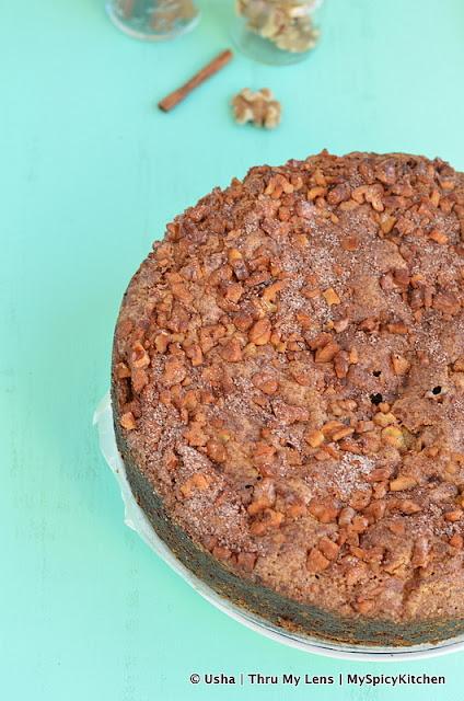 Apple cake, Chocolate chip coffee apple cake, chocolate chip apple cake, bake-a-thon, bakeathon 2015,