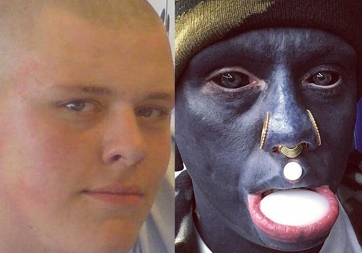 Gossip Logone Cet Homme Blanc A Passe 10 Ans A Tatouer Son Corps