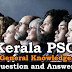 Kerala PSC General Knowledge Question and Answers - 60
