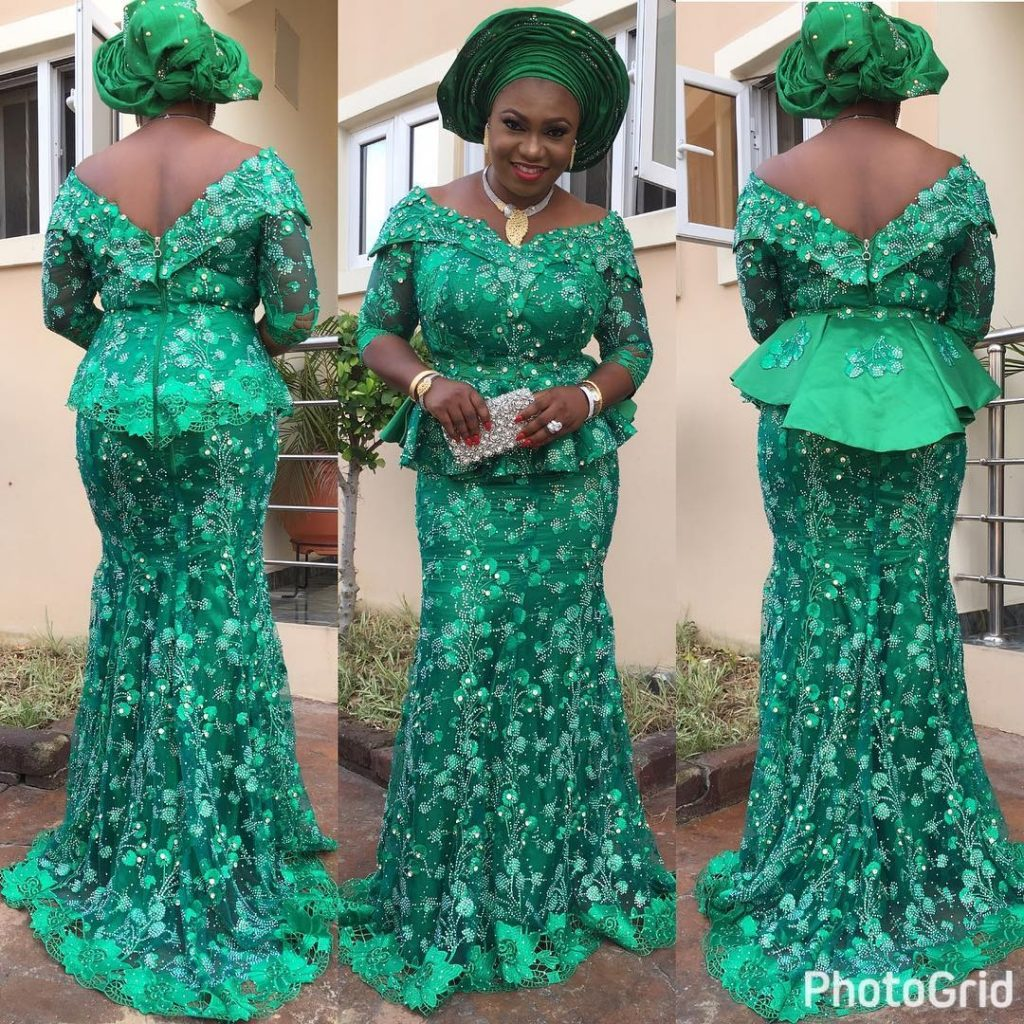 Nigeria Lace Skirt And Blouse Styles Anlis