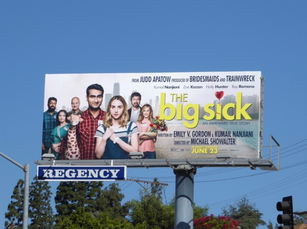 Big Sick movie billboard