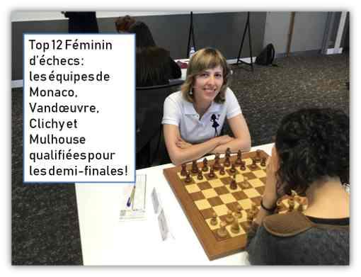 Tatiana Dornbusch grand-maître d'échecs du club de Monaco