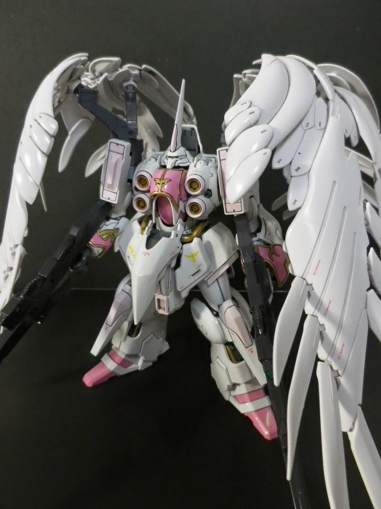Gundam Girl Wallpaper Custom Build Hguc 1 144 Kshatriya Quot Wing Gundam Zero Ew