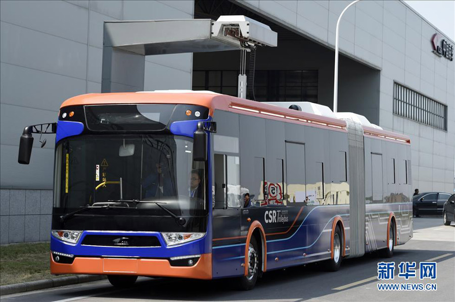 World S Fastest Charging Electric Bus Takes 10 Seconds To Charge