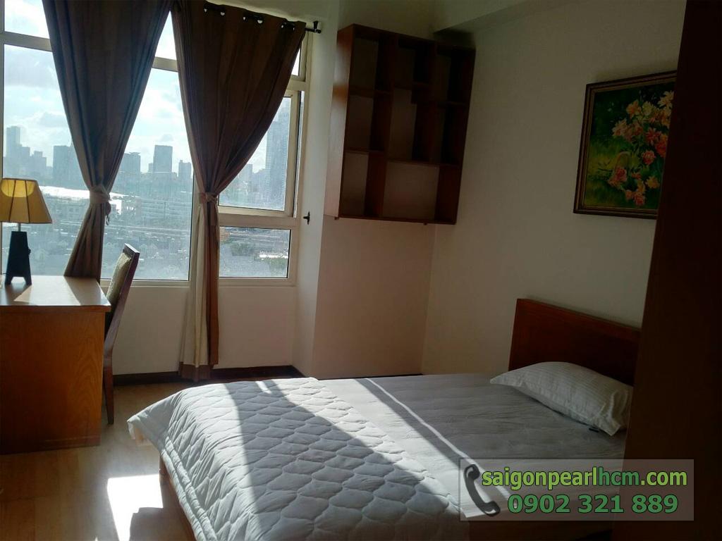 Saigon Pearl - Ruby 1 bán căn hộ 140m2 - cửa sổ phòng ngủ 3