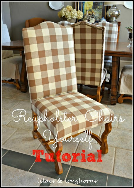 Diy Dining Chair Covers