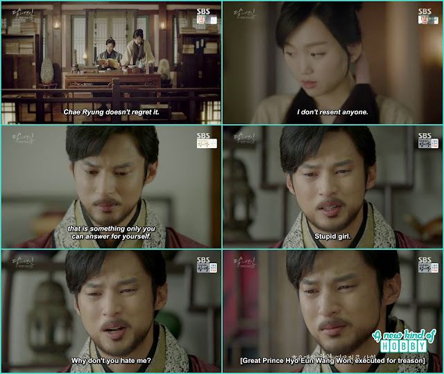 9th prince after reading chae ryung letter drink the poisin - Moon Lovers Scarlet Heart Ryeo - Episode 20 Finale (Eng Sub)