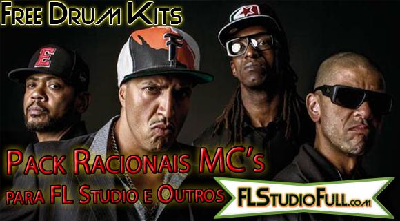 Pack Racionais MCs para FL Studio e Outros [Drum Kit Free]