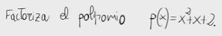 54.Factorización de un polinomio de grado 2