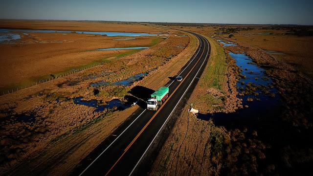 Se inauguró la repavimentación de la ruta 12 en Entre Ríos