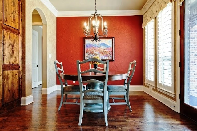accent wall paint ideas dining room