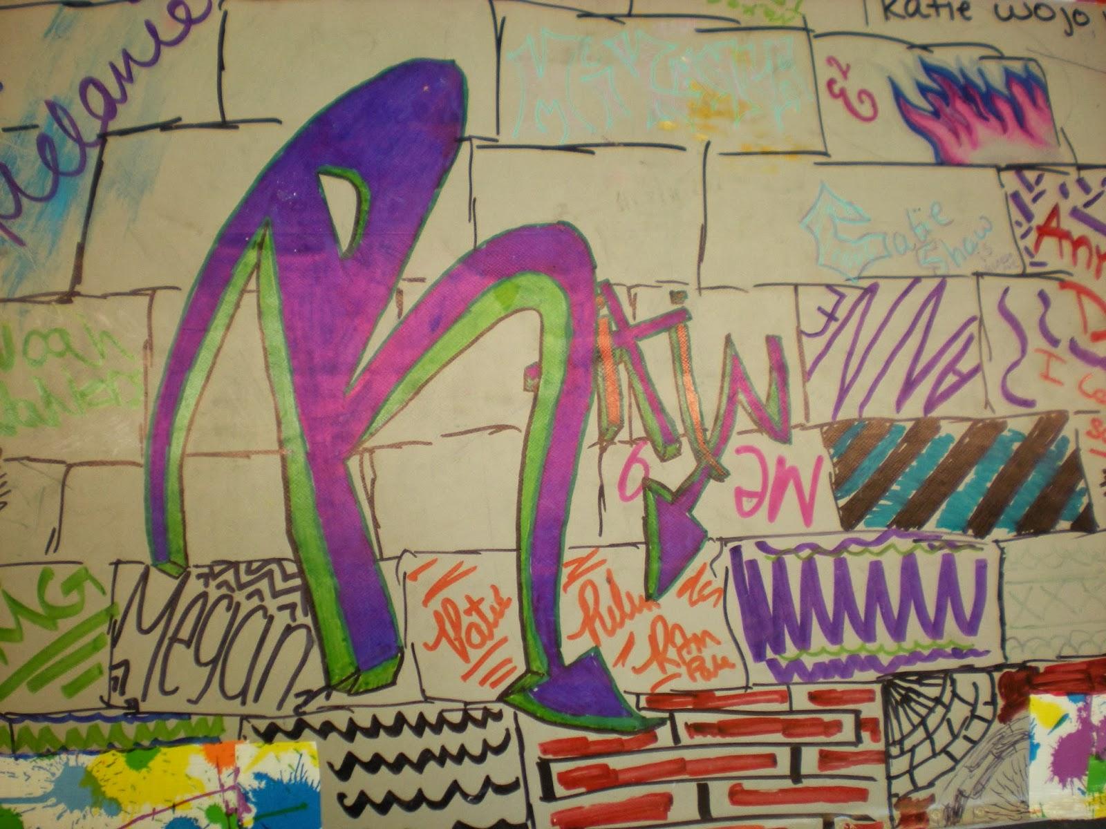 8th Grade Graffiti Lesson