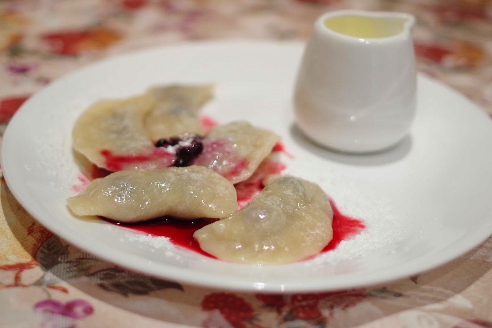 Knedle (Fruit filled dumpling)