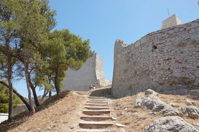 widok na panormaę środkowej Dalmacji