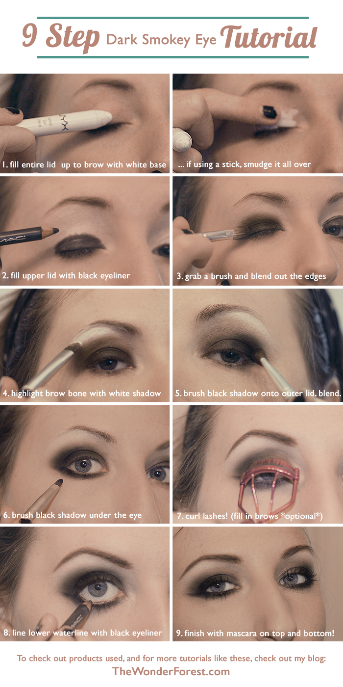 Easy Eye Makeup For Tired Eyes: Eye Makeup Tutorials Step By Step