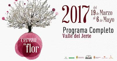 PROGRAMACIÓN COMPLETA. Primavera y Cerezo en Flor 2017