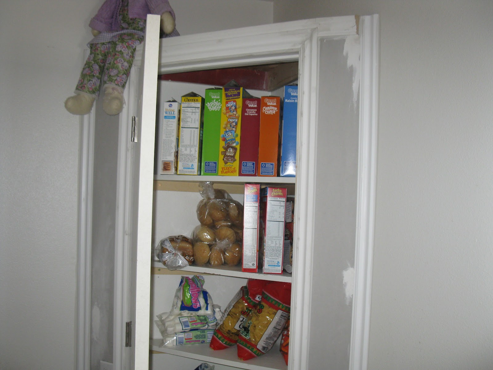 Corner Kitchen Pantry Closet