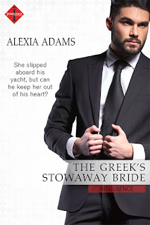 The Greek's Stowaway Bride by Contemporary Romance Author Alexia Adams