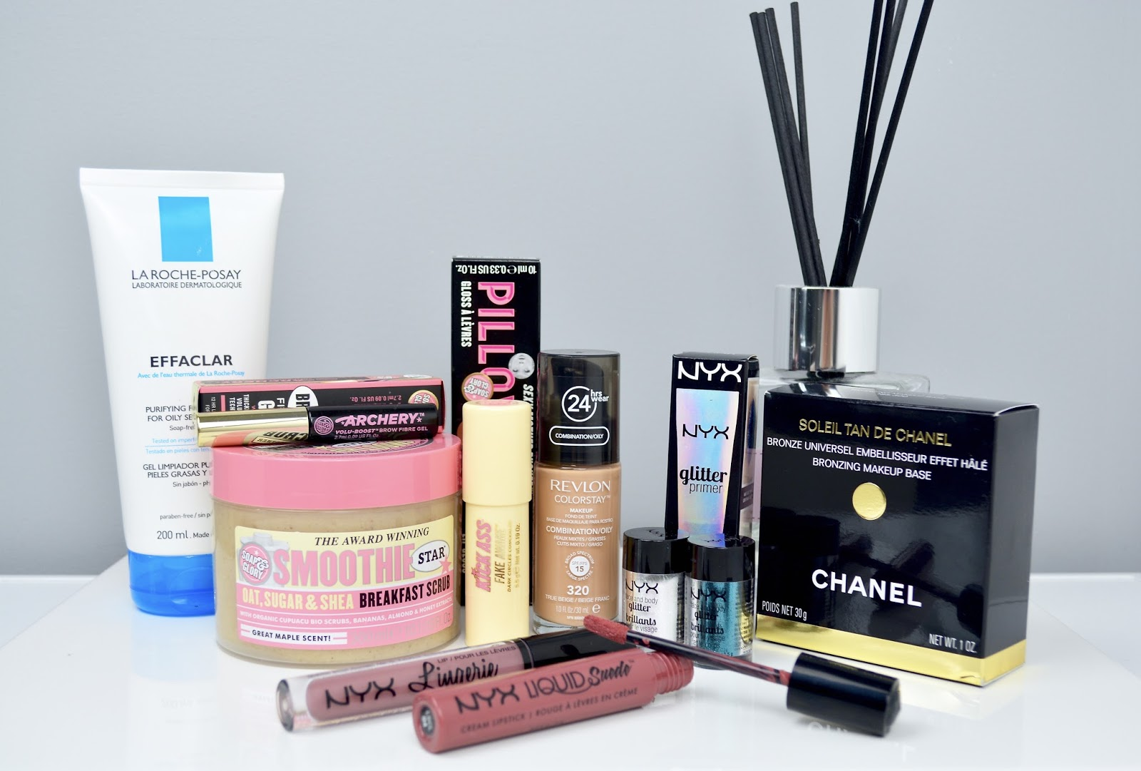 Makeup, Boots Haul, Beauty Haul, NYX, Chanel, Soap and Glory, Revlon Color Stay Foundation, NYX Cosmetics, Lipstick, Lip Gloss, Beauty Blogger, Glitter, NYX Face and Body Glitter