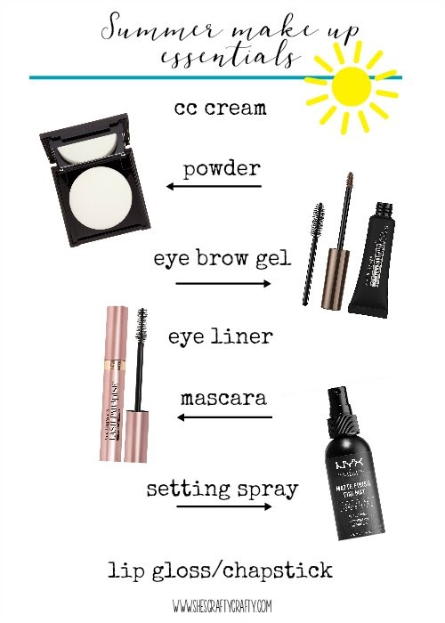 Summer Beauty Hacks, summer make up essentials