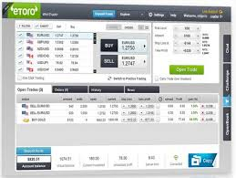 How to trade online etoro
