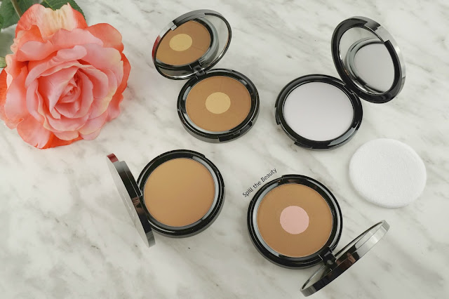 quo 2017 makeup review swatches quo bronzer duo south beach golden glow matte bronzer light tan radial blur translucent powder
