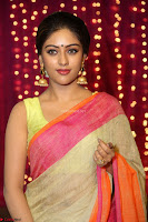 Anu Emmanuel sizzles in khaki saree at Zee Telugu Apsara Awards 2017 09.JPG
