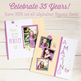 Save 35% on Alphabet Stamp Sets in January!