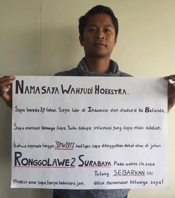 Kisah Yang Mengharukan, Warga Belanda Mencari Jejak Ibu Kandung di Surabaya