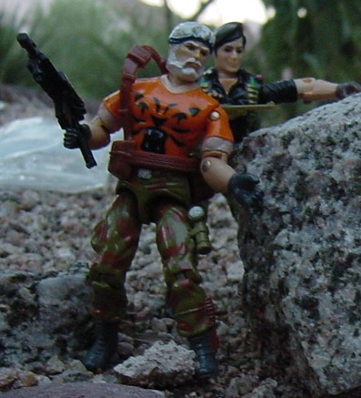 European Tiger Force Outback, Funskool Flint