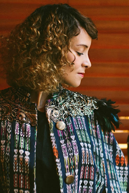 """Live Music Television presents Gaby Moreno and a live performance of her song titled """"Til Waking Light, performed for the first time ever on Live From Here, with Chris Thile."""