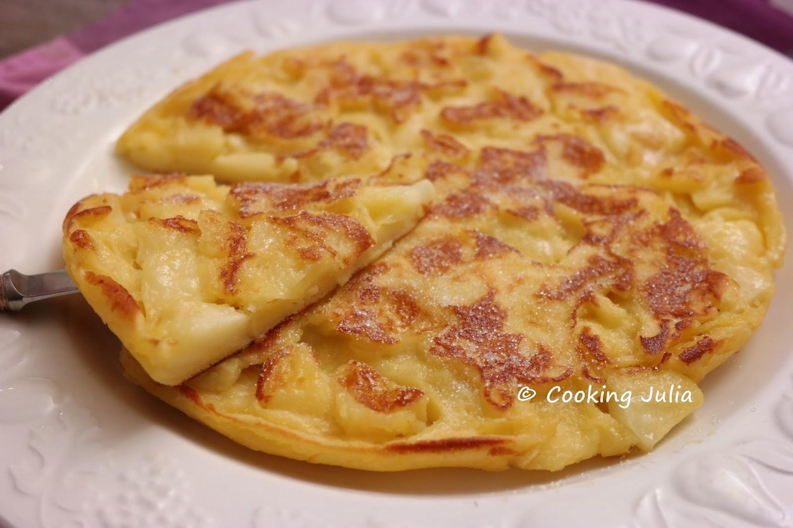Cooking julia beignet aux pommes la po le - Recette pate a beignet sucre ...