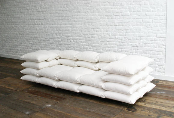 Giant Pillows To Make Day Bed Into Couch