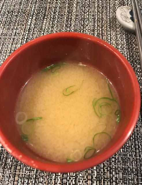 Yokohama Teppanyaki, Glen Waverley, miso soup