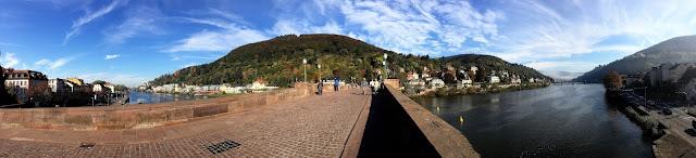 Heidelberg Herbst Alte Brücke Altstadt