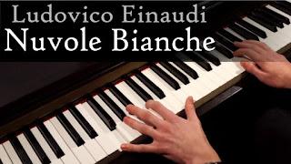 Ludovico Einaudi Nuvole Bianche partitura piano